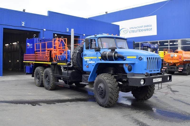 Цементировочный агрегат ЦА-32 УЗСТ-001-21 Урал 4320