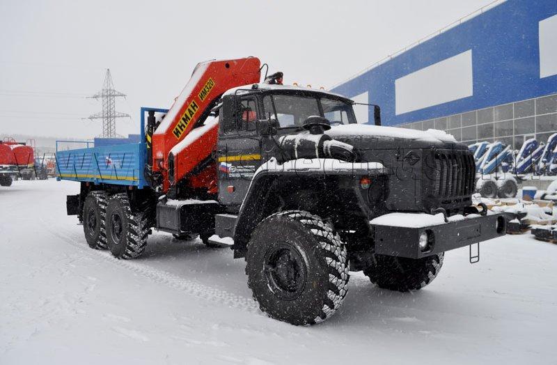 Бортовой Урал 4320-1912-72Е5 с КМУ ИМ-320