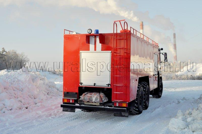 Пожарный автомобиль порошкового тушения АП-5000 Урал 4320-4971-80М