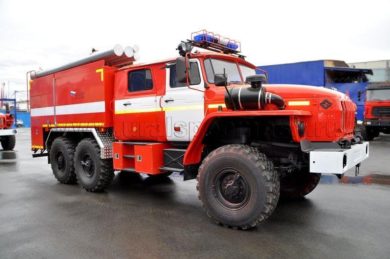 Пожарная автоцистерна АЦ-6,0-40 на шасси Урал 5557-1112-60М