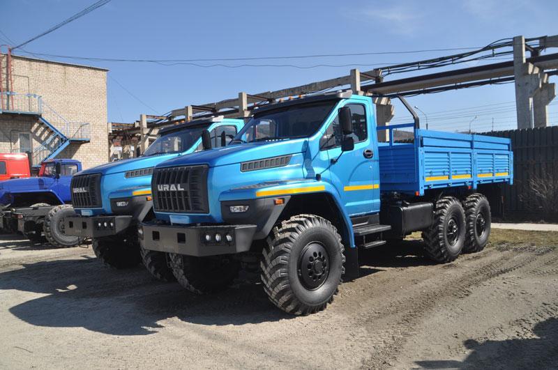 Бортовой Урал-NEXT 4320-5911-72Е5