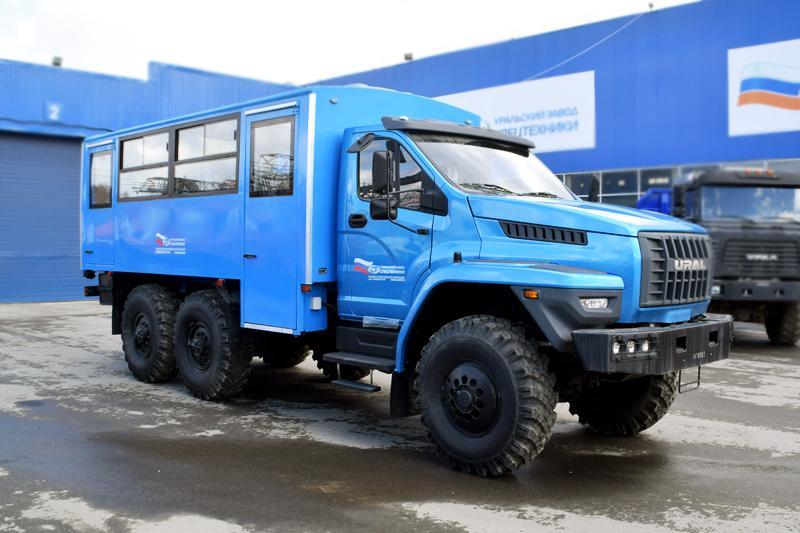 Вахтовый автобус Урал-NEXT 32551-5013-71Е5 – 20+2 места