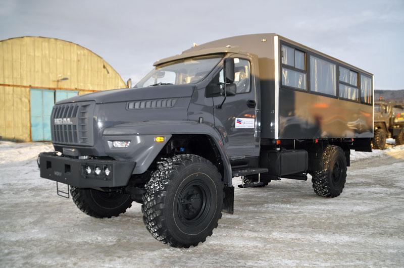 Вахтовый автобус Урал-NEXT 32552-5013-71Е5 – 20+2 места