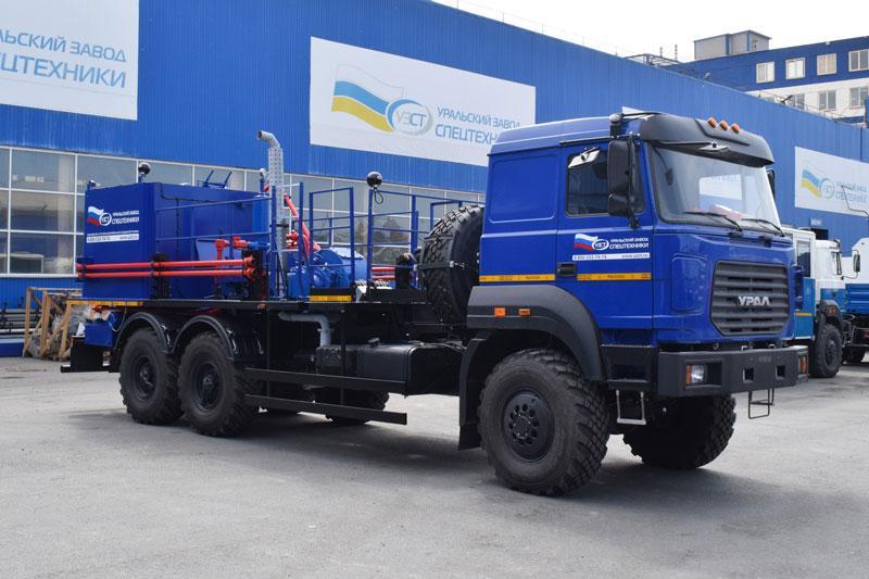 Цементировочный агрегат ЦА-32 УЗСТ-006-22 Урал 4320 (поршневой насос)