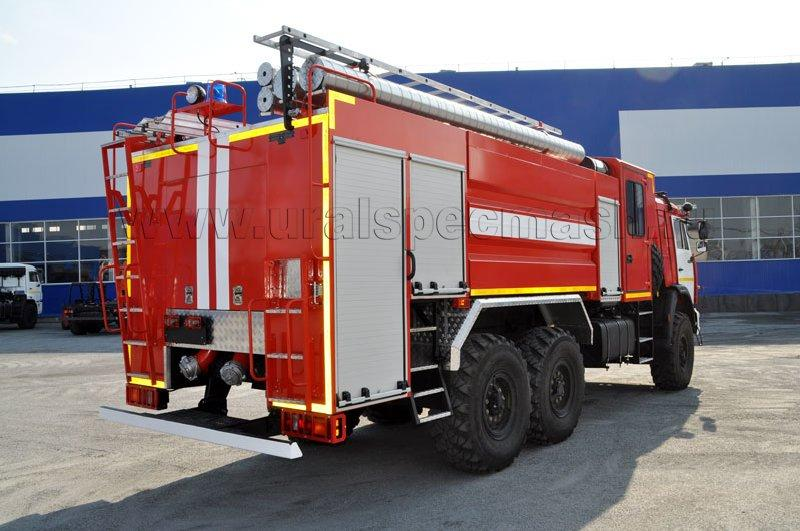 Пожарная автоцистерна – АЦ-8,0-70 Камаз 43118