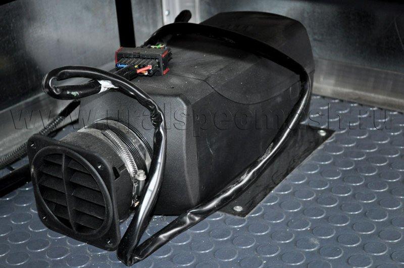 Установка отопителя Eberspacher Airtronic D4