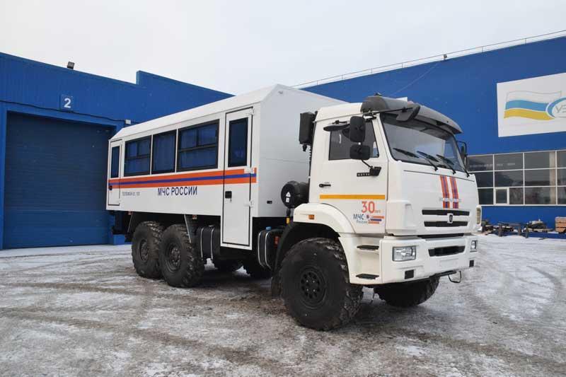 Вахтовый автобус Камаз 43118-3027-50 (МЧС)  – 24+2 места