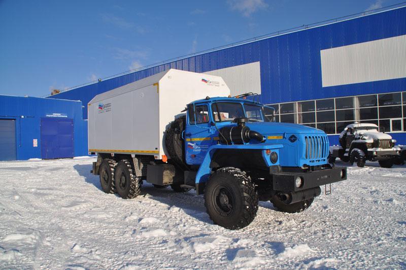 Автомобиль для перевозки взрывчатых веществ Урал 4320-1912-60Е5