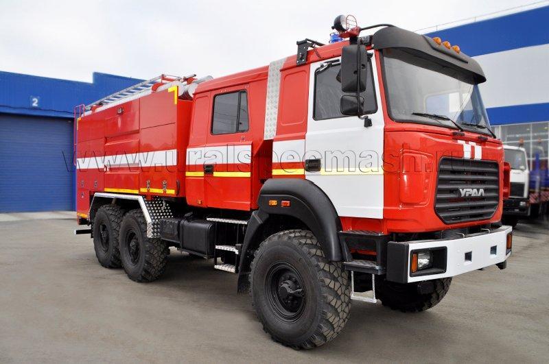 Пожарная автоцистерна – АЦ-5,0-40 Урал 5557-4152-80