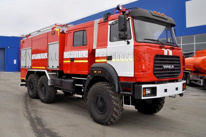Пожарная автоцистерна – АЦ-5,0-70 Урал 5557-4156-80