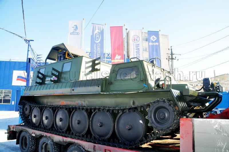 Агрегат исследования скважин АИС-1 на гусеничном шасси ГАЗ 34039-33