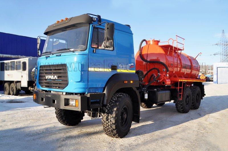 Вакуумная машина МВ-10 Урал 4320-4972-80М
