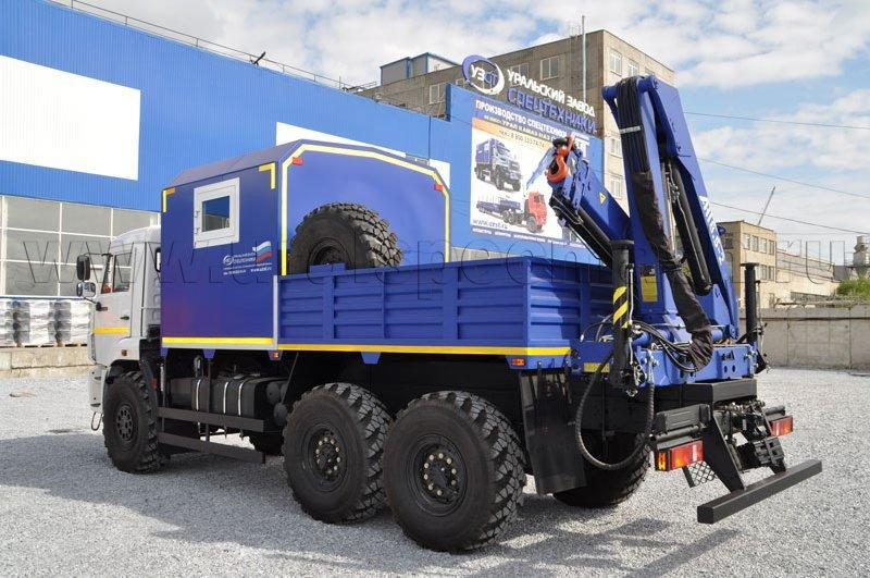 Навесное оборудование ГПА с КМУ – 6 мест