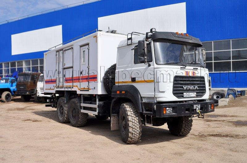 Аварийно-спасательный автомобиль Урал 5557