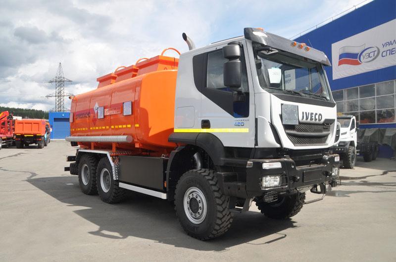 АТЗ-18 Iveco Trakker AT380T (002, 3 секции, СВН-80)