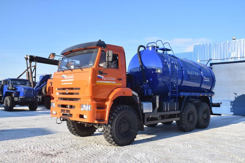МВ-16 Камаз 65222-3010-53 (КО-505)