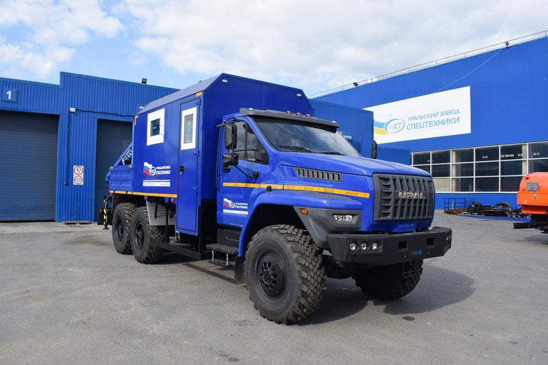 ПАРМ Урал-NEXT 4320-6952-72Е5Г38 с КМУ АНТ 8.5-2 (г-р EG-202)