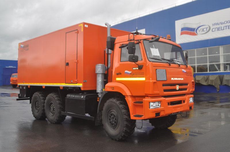 Автомобиль для перевозки взрывчатых веществ Камаз 43118-3027-50
