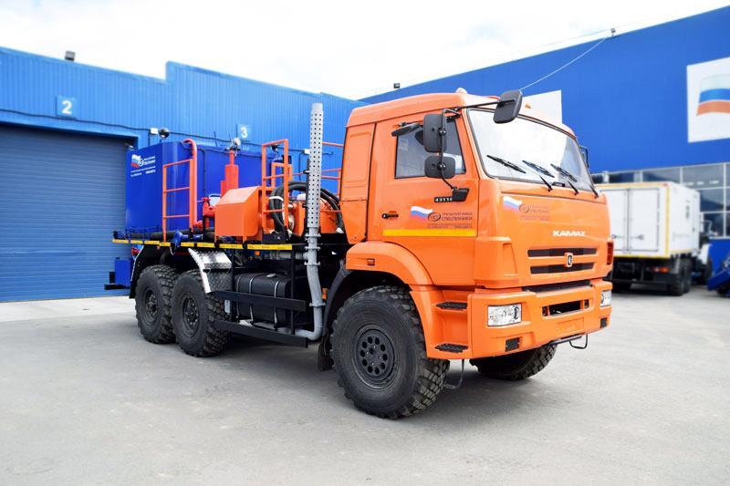 Цементировочный агрегат ЦА-32 УЗСТ-003-21 Камаз 43118-50