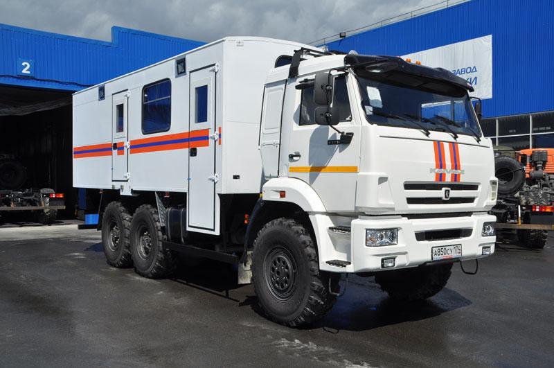 Грузопассажирский аварийно-спасательный автомобиль Камаз 43118-3027-50
