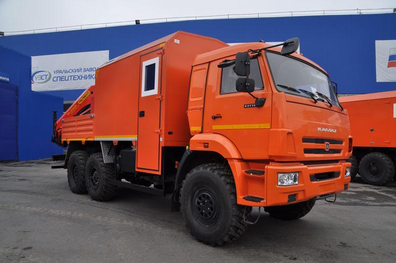 ПАРМ Камаз 43118-3086-50 с КМУ Palfinger PK-15500A (г-р EG-202)