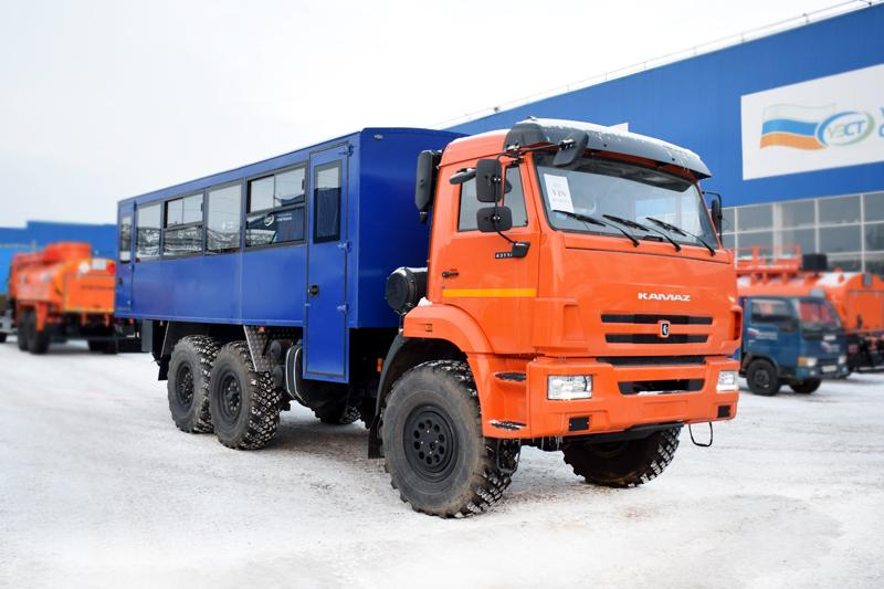 Вахтовый автобус Камаз 43118-3011-50 (004) – 28+2 места