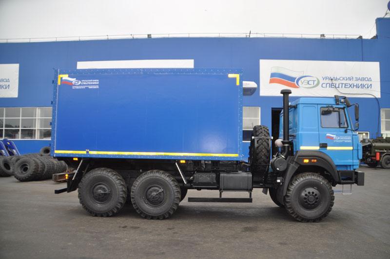 Фургон общего назначения Урал 4320-4151-81Е5