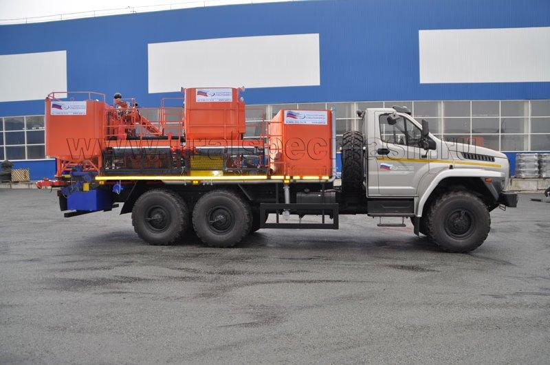 Цементировочно-смесительный агрегат на шасси Урал-NEXT 4320-6952-72Е5Г38