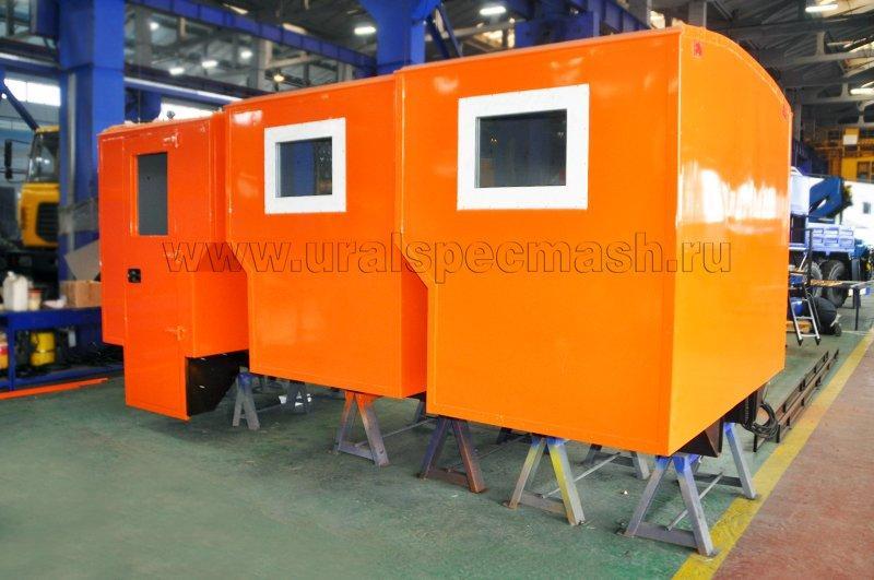Изготовление модульной кабины
