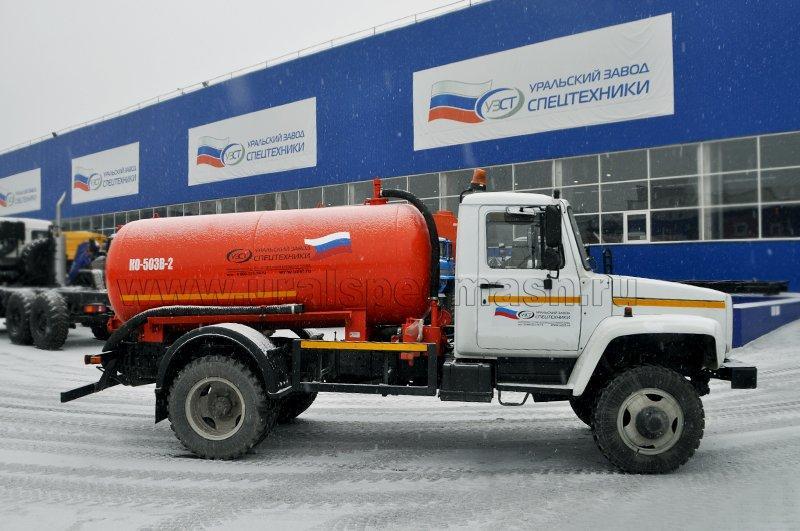 МВ-3,75 ГАЗ 3309 (КО-503В-2)