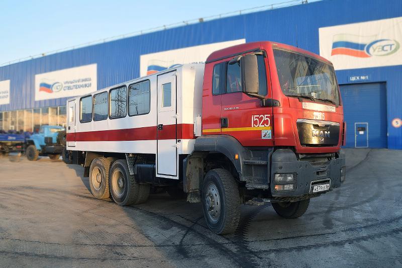 Вахтовый автобус MAN TGS 40.430 – 28+2 места