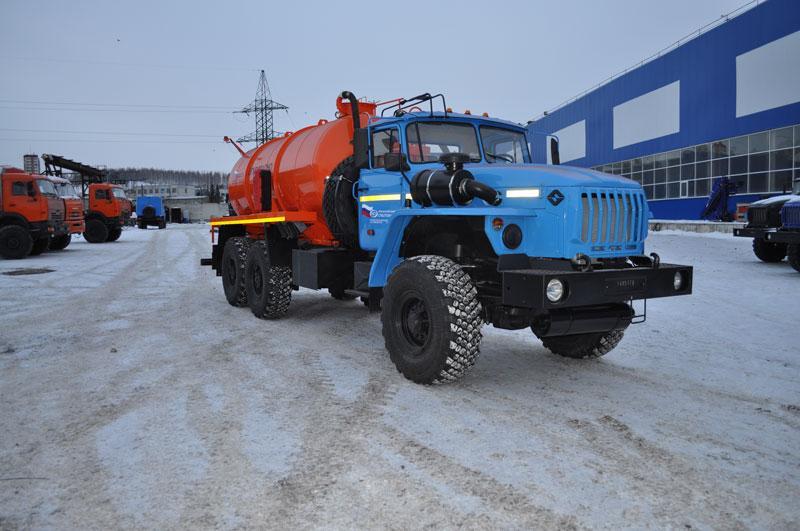 АКН-10 Урал 4320-1912-60E5 (КО-505)