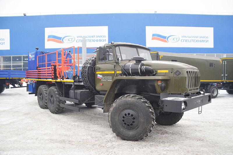 Цементировочный агрегат ЦА-32 УЗСТ-006-21 Урал 4320