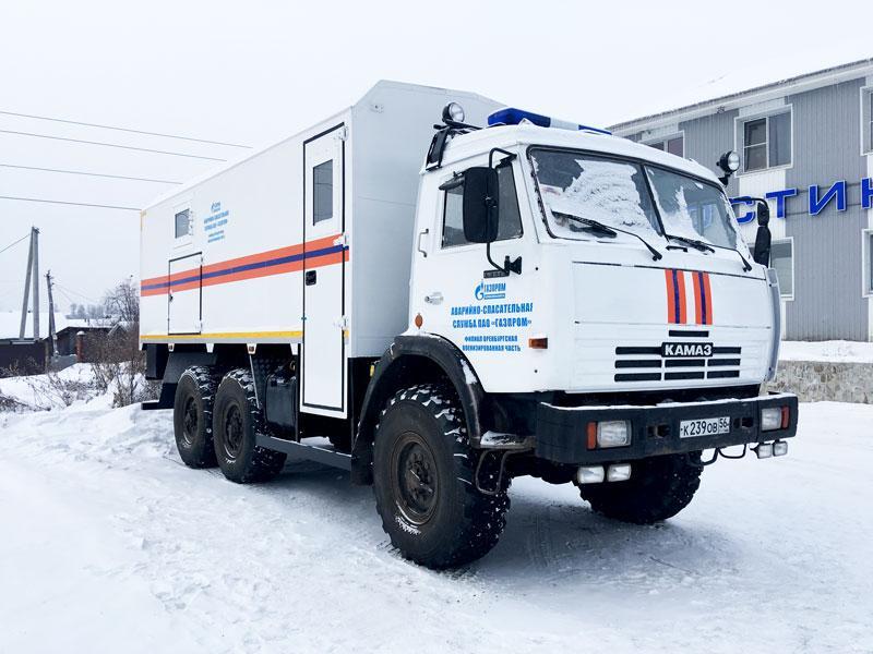 Аварийно-спасательный автомобиль Камаз 43114-1014-15