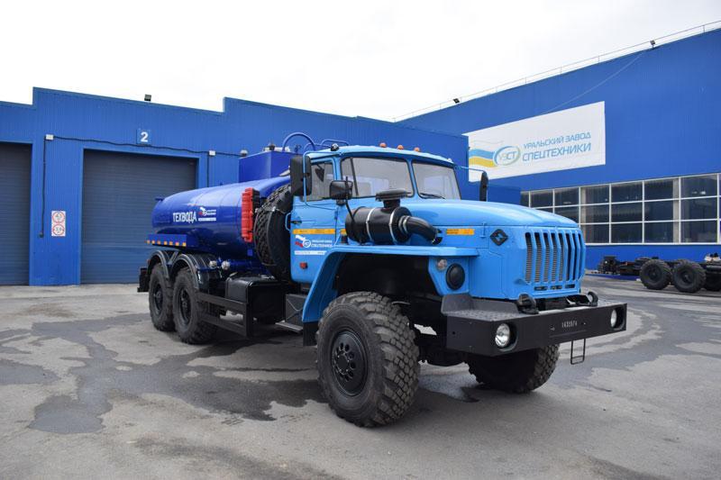 АЦВ-10 Урал 4320-1912-60Е5
