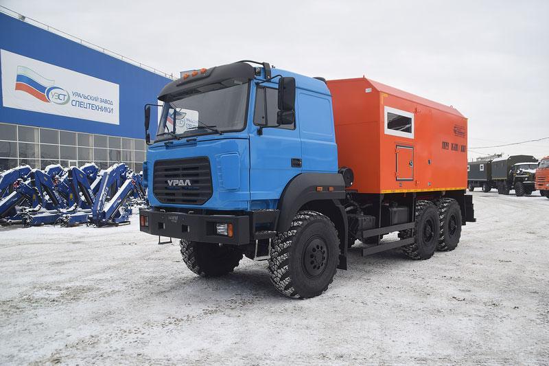 ППУА 1600/100 Урал 5557-4112-80Е5 (насос 2,3ПТ)
