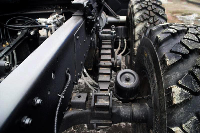Усиление передней подвески (рессор)