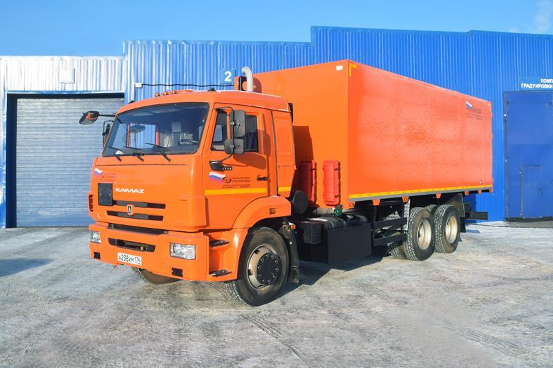 Автомобиль для перевозки взрывчатых веществ Камаз 65115-773094-42 (001)