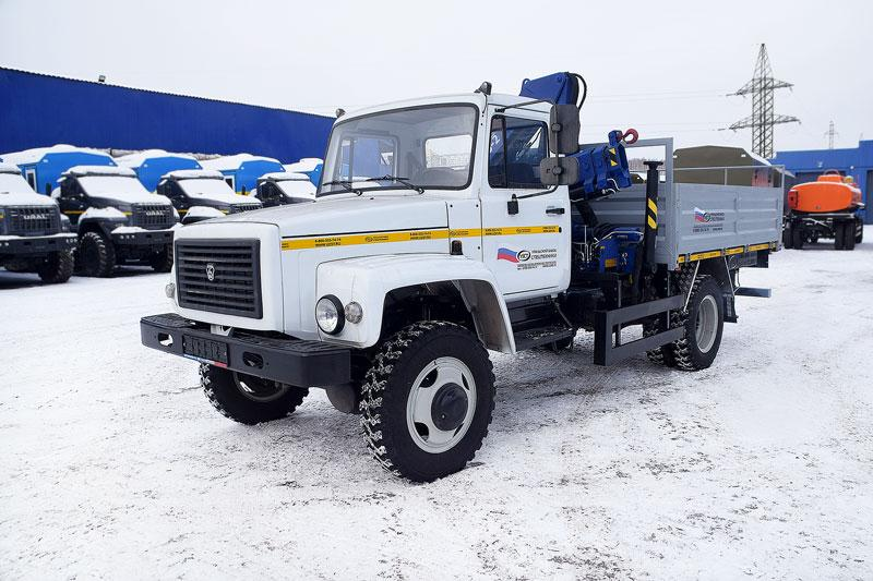 Техника производства УЗСТ на шасси ГАЗ