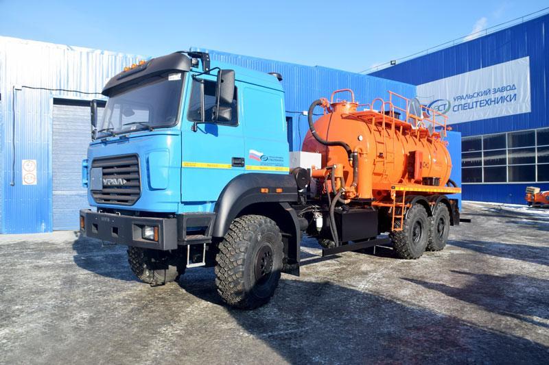 АКН-10 Урал 4320-4972-82Е5 (ОД, КО-505, сп.м.)