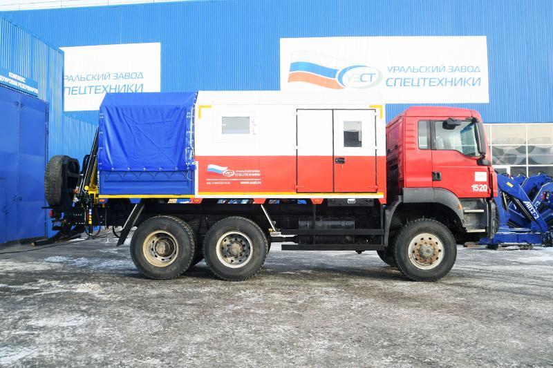 ПАРМ MAN с КМУ HYVA HA70 E2 (008)