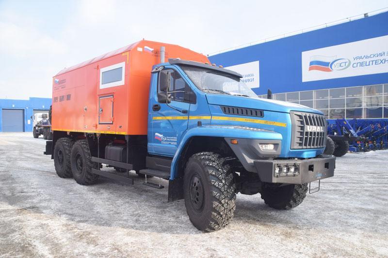 ППУА 1600/100 Урал-NEXT 4320-6952-72Е5Г38 (насос 1,1ПТ)