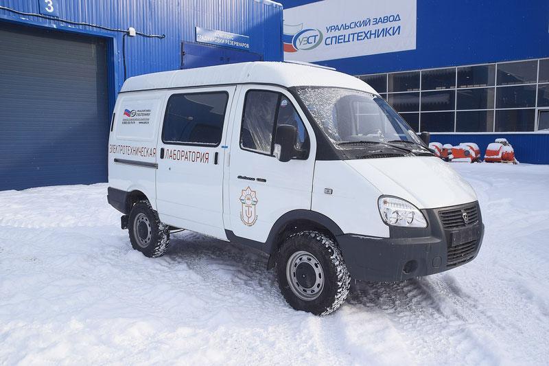 Передвижная лаборатория высоковольтных испытаний ГАЗ 3009ST