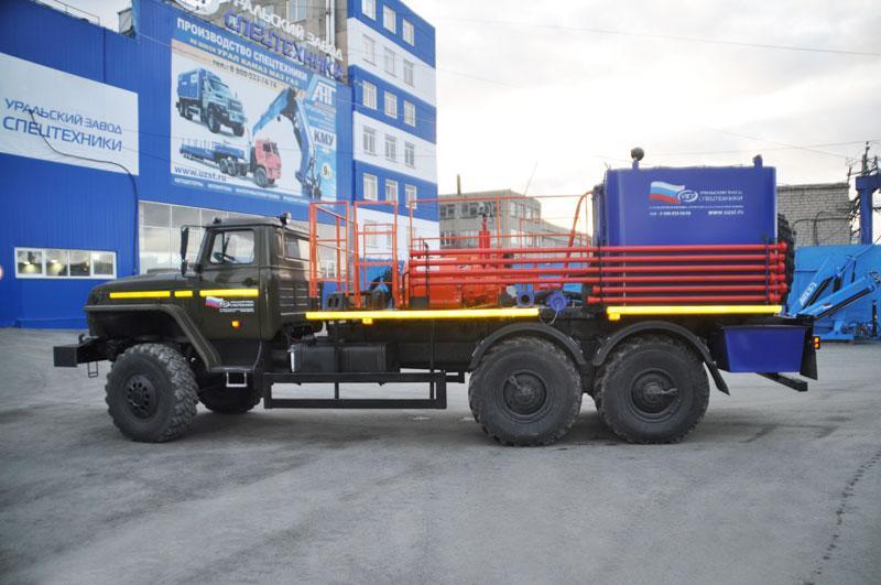 Цементировочный агрегат ЦА-32 УЗСТ-001-20 Урал 4320