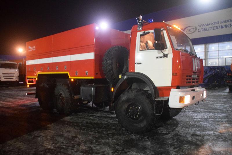 Пожарная насосная станция – ПНС-100 Камаз 43114-1017-15 (001)
