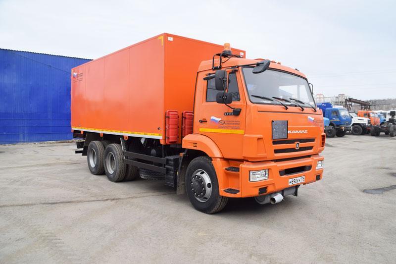 Автомобиль для перевозки взрывчатых веществ Камаз 65115-773082-42 (002)