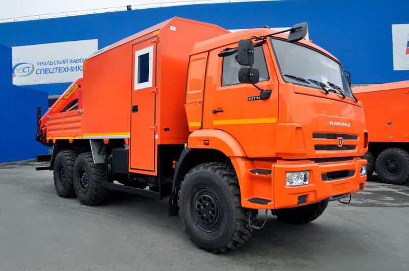 ГПА Камаз 43118-3086-50 с КМУ Palfinger PK 15500A
