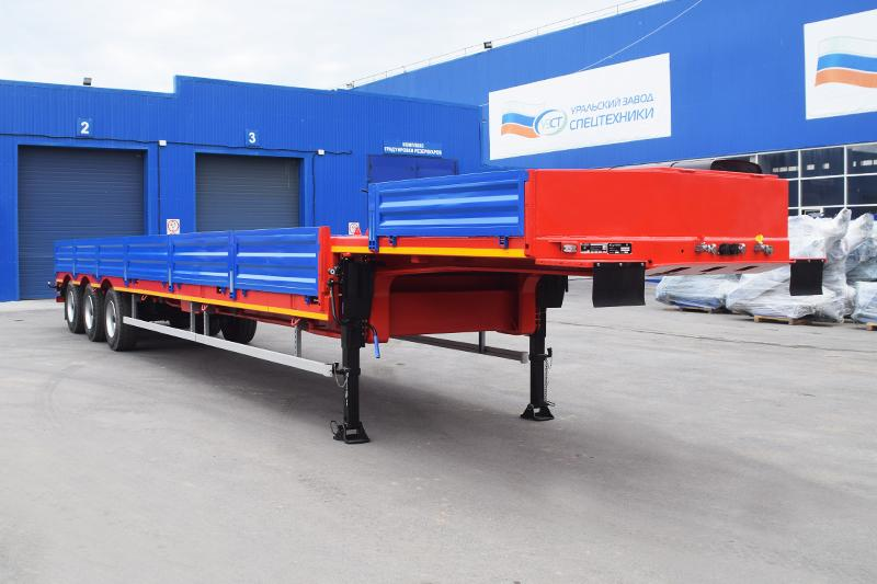 Полуприцеп-контейнеровоз марки УЗСТ 9174-020В3 (36 т.)