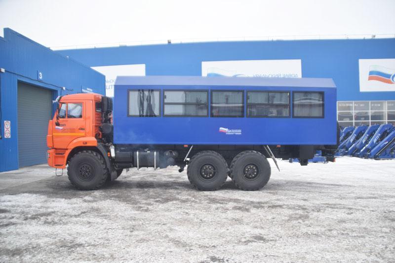 Вахтовый автобус Камаз 43118-3011-50 – 28+2 места (комплектация Люкс)