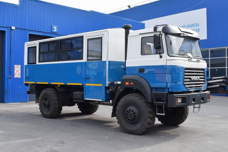 Вахтовый автобус Урал 32552-3020-79Е5П17 – 14+2 места